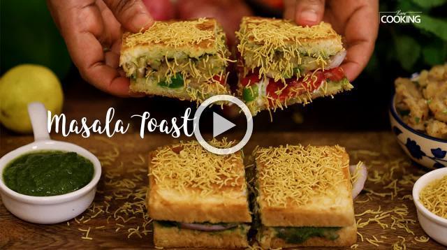 Masala Toast | Bombay Masala Toast