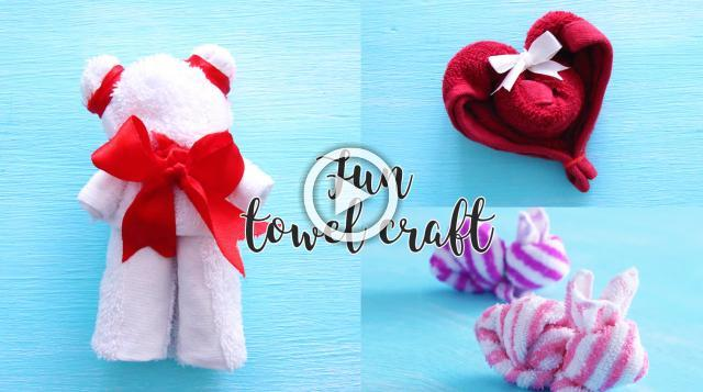 Fun Towel Crafts