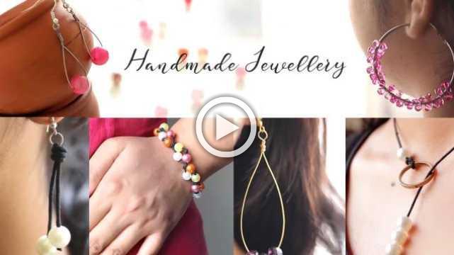 Handmade Jewellery | Pearls and Crystal Jewellery | Ventuno Art