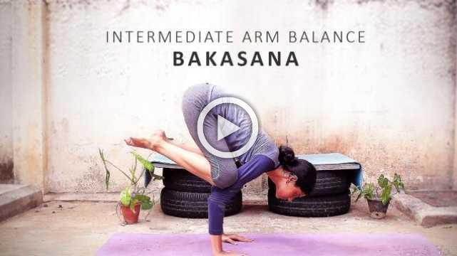 Intermediate Arm Balance - Bakasana