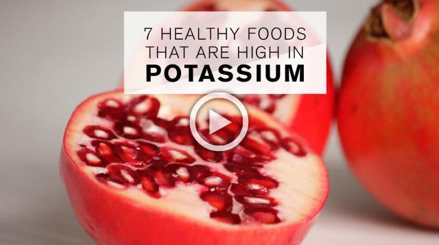 7 Healthy Foods That Are High in Potassium