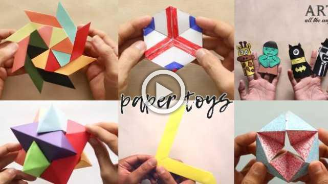 6 Cool And Easy DIY Toys For Kids