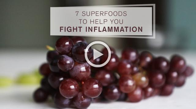 7 SuperFoods To Help You Fight Inflammation