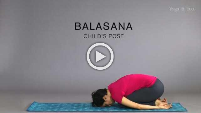 How to do Balasana - Child's Pose