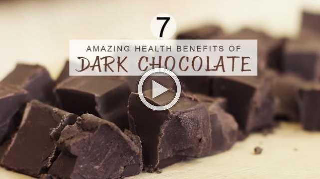 7 Amazing Health Benefits of Dark Chocolate