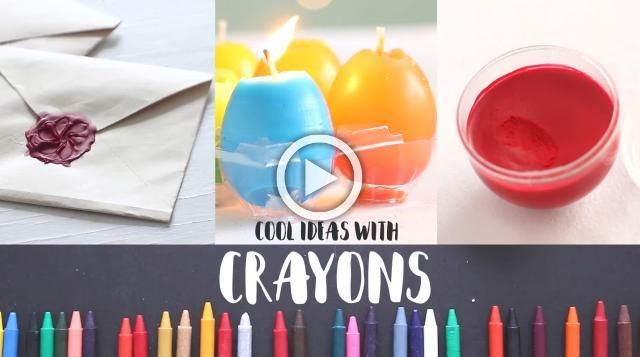 6 Bright Crayon Ideas