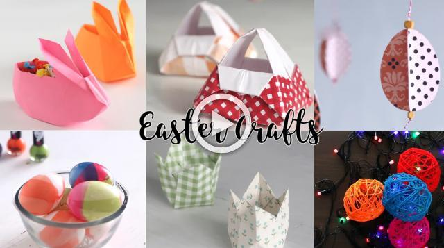 6 Easy Easter Crafts