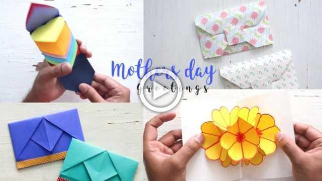 4 Beautiful And Easy Mother's Day Cards Ideas