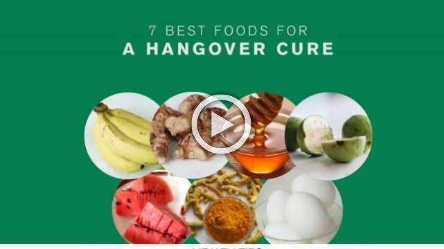 7 Best Foods for a Hangover Cure