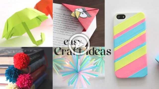 5 Easy Craft Ideas