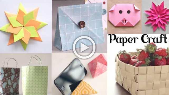 10 Amazing Paper Crafts Diy Craft Ideas Art All The Way
