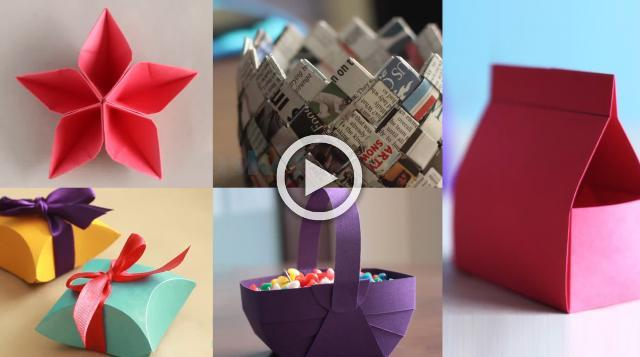 5 Best Paper Crafts