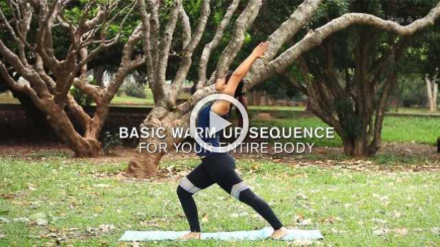 Basic Warm Up sequence For Your Entire Body