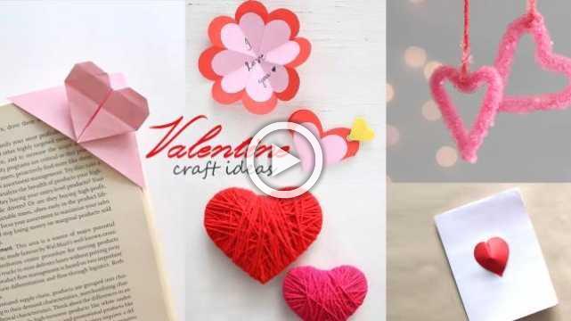 5 Easy Valentine Craft Ideas
