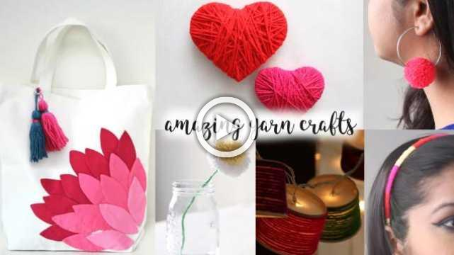 6 Truly Fascinating Ideas With Yarn
