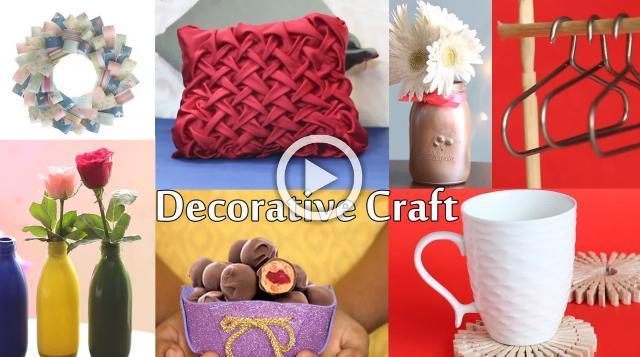 Home Decorative Craft Ideas | Unbelievably Helpful DIY