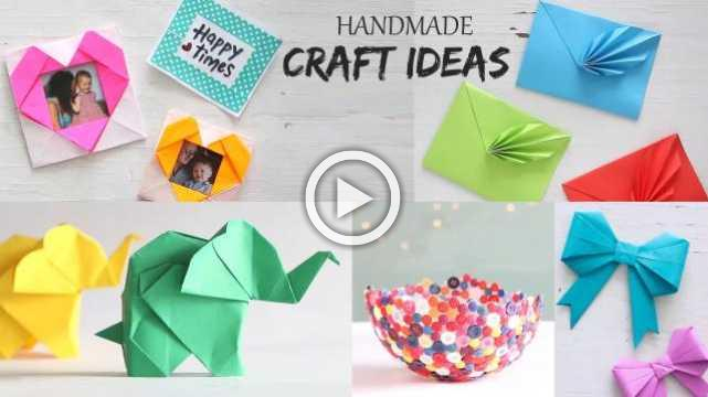 Easy 5 Handmade Craft Ideas