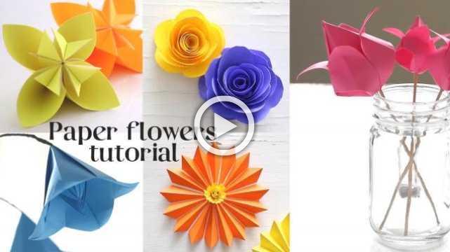 Easy Paper Craft Tutorials