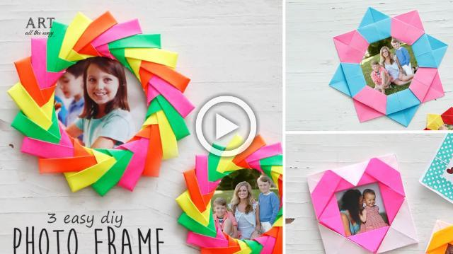 3 Easy DIY Photo Frame