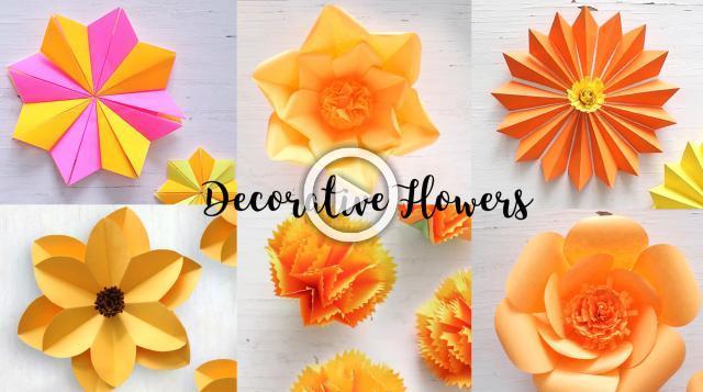 6 Flower Decor Ideas