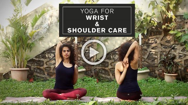 Yoga for Wrist and Shoulder Care