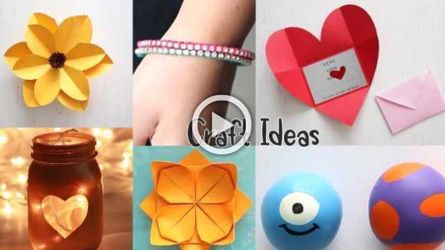10 Genius Crafts To Make In 5 MINUTE