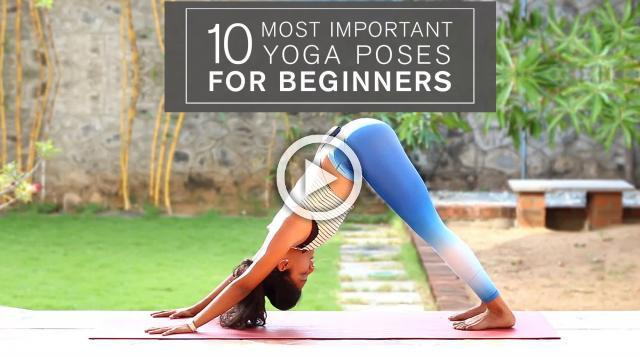 10 Most Important Yoga Poses for Beginners