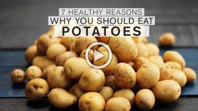 7 Healthy Reasons Why You Should Eat Potatoes