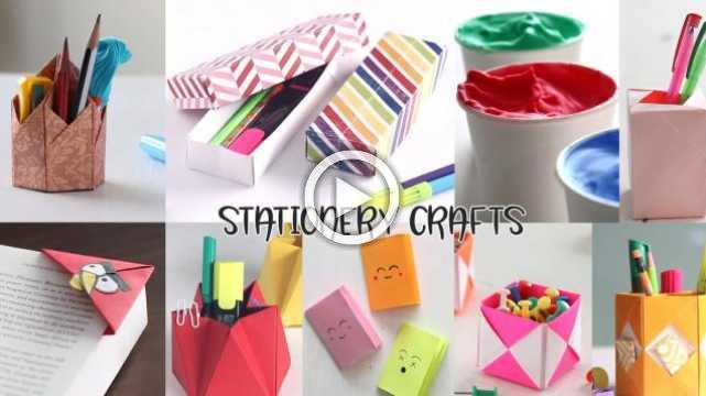 10 Back To School Stationery Crafts And DIYs