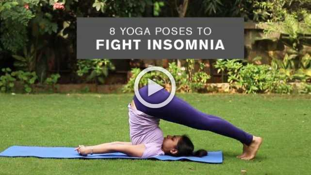 8 Yoga Poses to Fight Insomnia