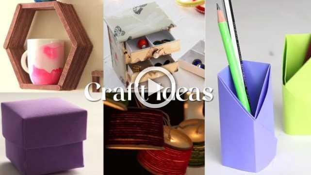 Easy Craft Ideas