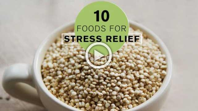 10 Healthy Foods for Stress Relief