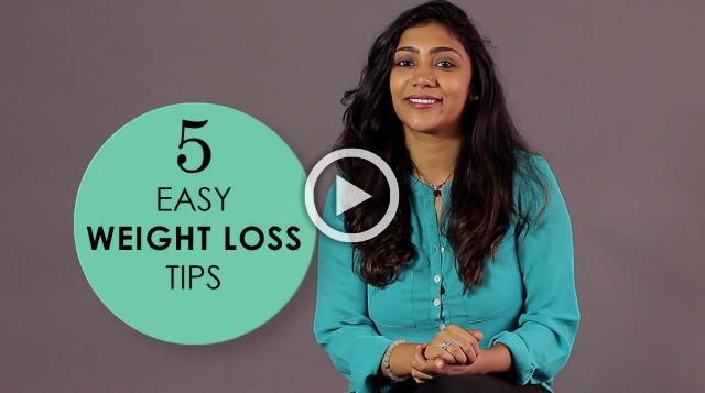 5 Easy Healthy Weight Loss Tips