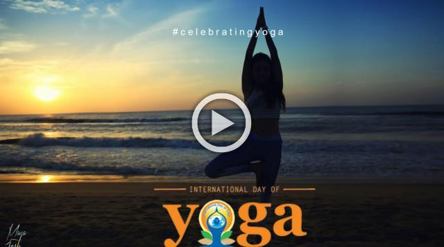 Celebrating International Day Of Yoga 2018