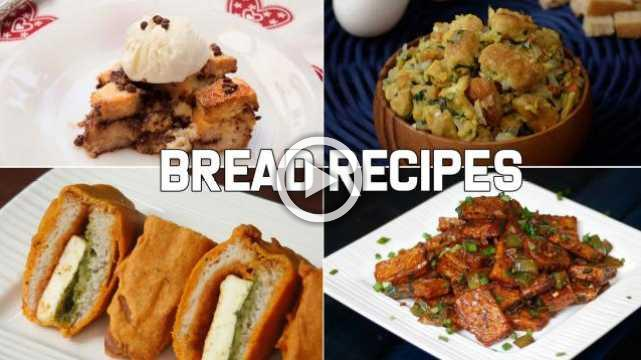 4 Easy Snacks Using Bread