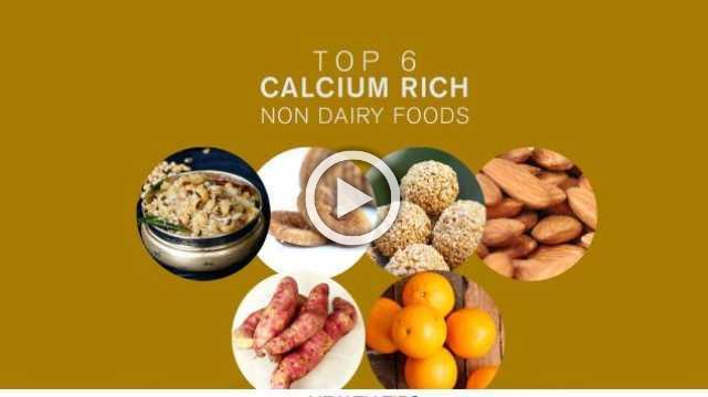 Top 6 Calcium Rich Non Dairy Foods