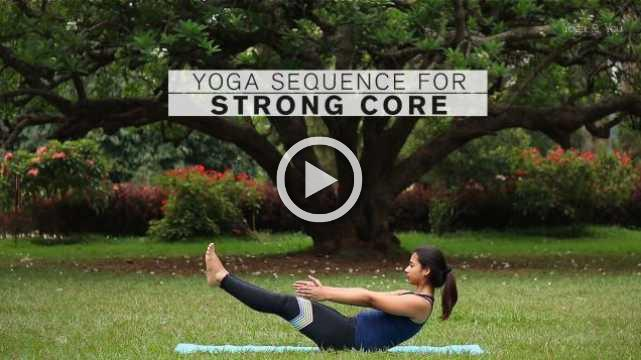 Yoga sequence for Strong Core