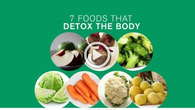 7 Foods That Detox the Body