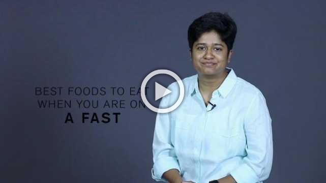 Best Foods To Eat When You Are On A Fast