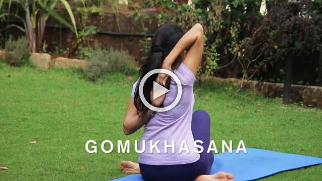 How to do Gomukhasana - Cow Face Pose