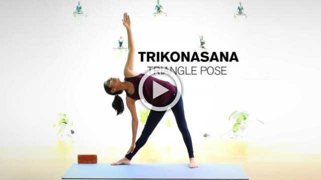 How to do Trikonasana - Triangle Pose