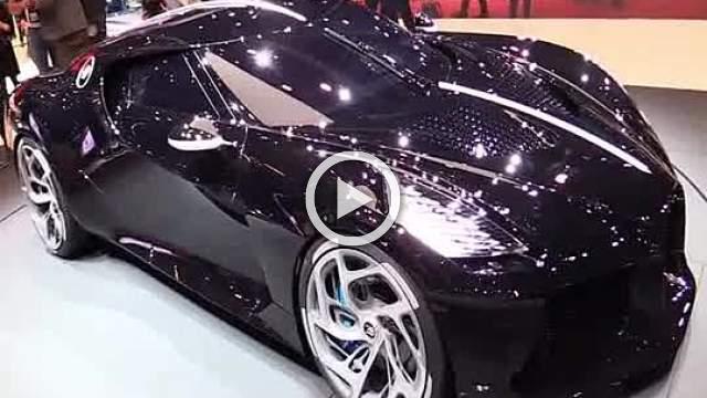 Bugatti La Voiture Noire Walkaround Motor Show