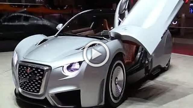 Hispano Suiza Carmen Turnaround Motor Show 2019