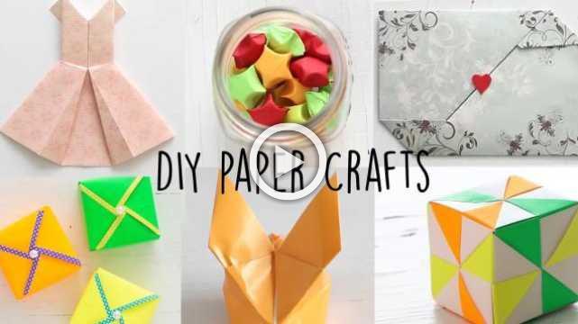 6 Easy Paper Craft | Paper Folding | DIY Tutorial