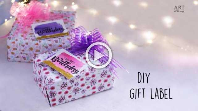 DIY Gift Label
