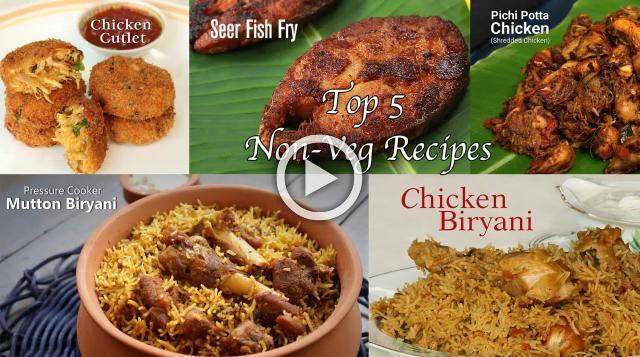 Top 5 Non Veg Recipes Ventuno Home Cooking