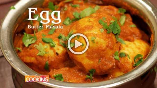 Egg Butter Masala