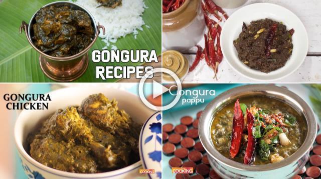Gongura Recipes