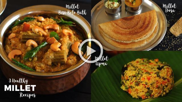 3 Healthy Millet Recipes