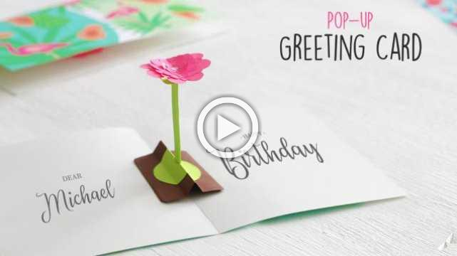 DIY Pop-up Greeting Card
